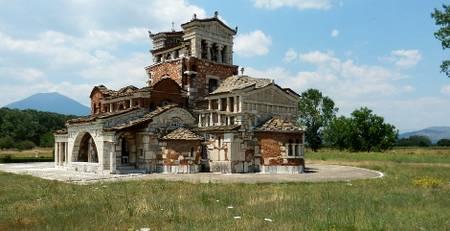 Arkadien - Kirche Mantineia